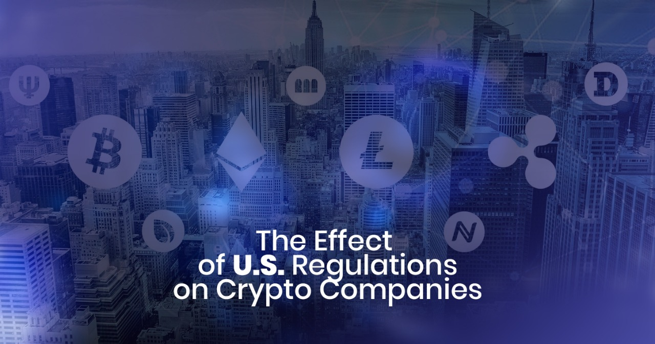 The effect of US regulations on crypto companies